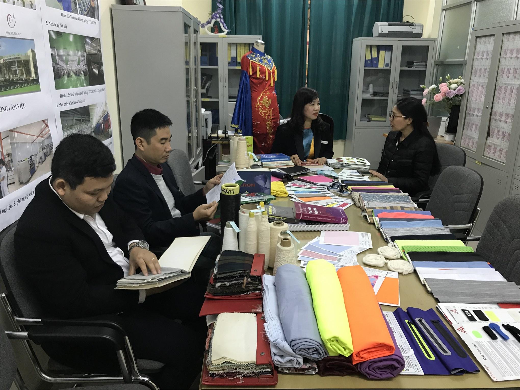Giới thiệu về ngành Công nghệ Vật liệu Dệt May - Trường Đại học Công nghiệp Hà Nội
