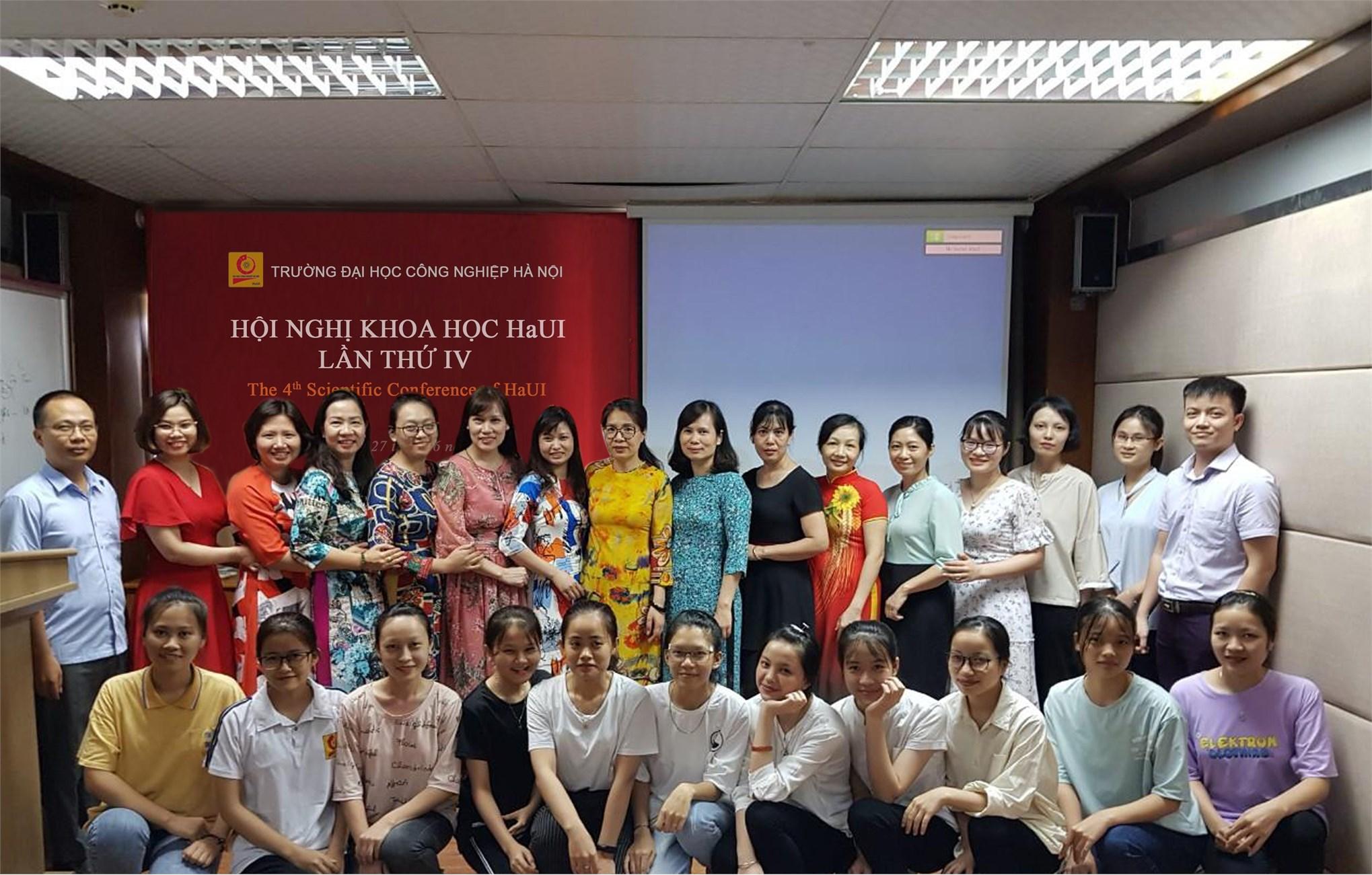 Hội nghị khoa học HaUI lần thứ IV, Ban Công nghệ dệt, may và thiết kế thời trang